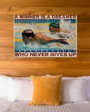Old Man Don't Stop Swimming 2 36x24 Poster poster-landscape-36x24-lifestyle-23