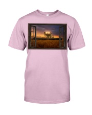 JD Tractor Window View  Classic T-Shirt tile