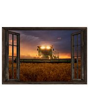 JD Tractor Window View  36x24 Poster front