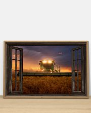 JD Tractor Window View  36x24 Poster poster-landscape-36x24-lifestyle-03
