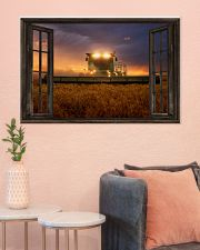 JD Tractor Window View  36x24 Poster poster-landscape-36x24-lifestyle-18