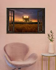 JD Tractor Window View  36x24 Poster poster-landscape-36x24-lifestyle-19