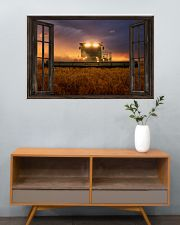 JD Tractor Window View  36x24 Poster poster-landscape-36x24-lifestyle-21