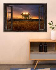 JD Tractor Window View  36x24 Poster poster-landscape-36x24-lifestyle-22