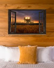 JD Tractor Window View  36x24 Poster poster-landscape-36x24-lifestyle-23