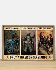 Biker Race The Rain 36x24 Poster poster-landscape-36x24-lifestyle-03