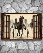Harness Racing Window  36x24 Poster aos-poster-landscape-36x24-lifestyle-12