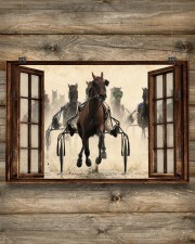 Harness Racing Window  36x24 Poster aos-poster-landscape-36x24-lifestyle-13