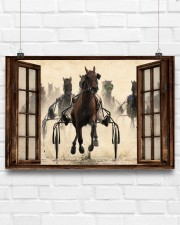 Harness Racing Window  36x24 Poster aos-poster-landscape-36x24-lifestyle-16