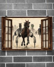 Harness Racing Window  36x24 Poster aos-poster-landscape-36x24-lifestyle-17