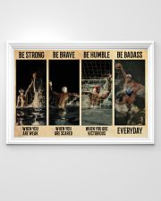 Water Polo Be Badass  36x24 Poster poster-landscape-36x24-lifestyle-02