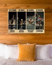 Water Polo Be Badass  36x24 Poster poster-landscape-36x24-lifestyle-23