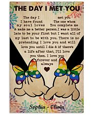 Lesbian M The Day I Met You Vertical Poster tile