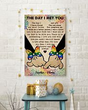 Lesbian M The Day I Met You 24x36 Poster lifestyle-holiday-poster-3