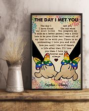 Lesbian M The Day I Met You 24x36 Poster lifestyle-poster-3