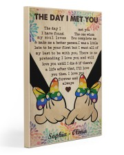 Lesbian M The Day I Met You 20x30 Gallery Wrapped Canvas Prints thumbnail