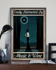 Easily Distracted By Music - Wine 24x36 Poster lifestyle-poster-2