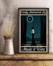 Easily Distracted By Music - Wine 24x36 Poster lifestyle-poster-3