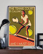 Tennis Court Calling 24x36 Poster lifestyle-poster-2