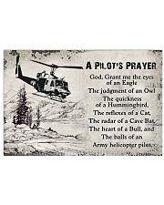 Pilot Pray's 36x24 Poster front