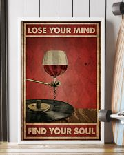 Wine And Vinyl Lose Your Mind 24x36 Poster lifestyle-poster-4
