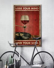 Wine And Vinyl Lose Your Mind 24x36 Poster lifestyle-poster-7