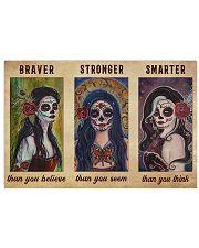 DOTD Braver Stronger Smarter  36x24 Poster front