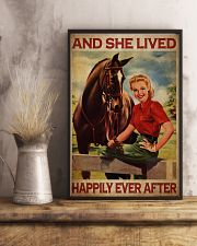 Happily Women 24x36 Poster lifestyle-poster-3