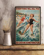 Water Skiing Choose Something Fun 24x36 Poster lifestyle-poster-3
