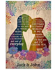 LGBT Couple 24x36 Poster front
