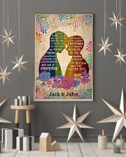 LGBT Couple 24x36 Poster lifestyle-holiday-poster-1