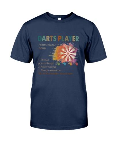 Darts Player Vintage