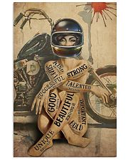 Motorcycle Girl I Am 24x36 Poster front