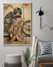 Motorcycle Girl I Am 24x36 Poster lifestyle-poster-1