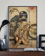 Motorcycle Girl I Am 24x36 Poster lifestyle-poster-2