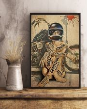 Motorcycle Girl I Am 24x36 Poster lifestyle-poster-3