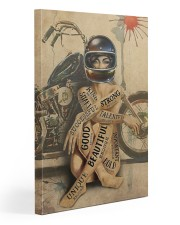 Motorcycle Girl I Am Gallery Wrapped Canvas Prints tile