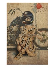 Motorcycle Girl I Am Puzzles tile
