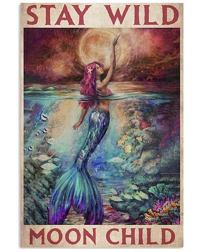 Mermaid Stay Wild Moon Child