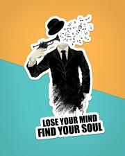 Trumpet Lose Your Mind  Sticker - Single (Vertical) aos-sticker-single-vertical-lifestyle-front-02