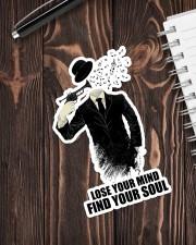Trumpet Lose Your Mind  Sticker - Single (Vertical) aos-sticker-single-vertical-lifestyle-front-05