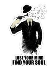 Trumpet Lose Your Mind  Sticker - Single (Vertical) front