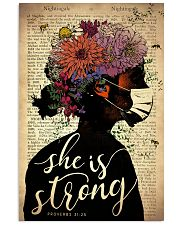 She Is Strong 24x36 Poster front