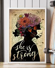 She Is Strong 24x36 Poster lifestyle-poster-4