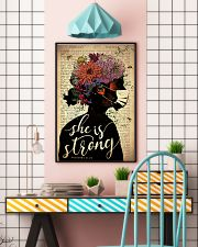 She Is Strong 24x36 Poster lifestyle-poster-6