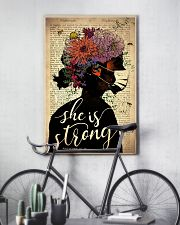 She Is Strong 24x36 Poster lifestyle-poster-7