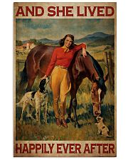 Horse And Girl Live Happily 2 24x36 Poster front