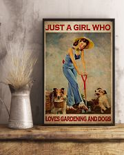 Just A Girl Loves Gardening 24x36 Poster lifestyle-poster-3
