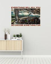 Aviation Pilot Choose Something Fun 36x24 Poster poster-landscape-36x24-lifestyle-01