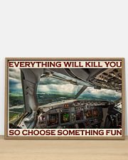Aviation Pilot Choose Something Fun 36x24 Poster poster-landscape-36x24-lifestyle-03